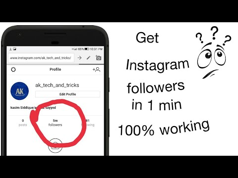 Get unlimited Instagram followers in 1 min! 100% real!!