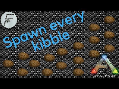 ARK: Survival Evolved - Spawn Every Kibble