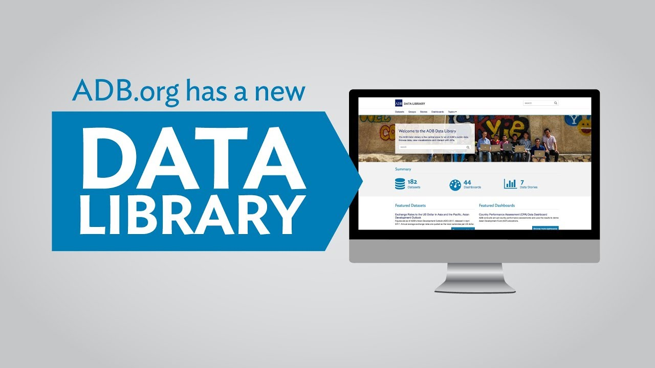 ADB Data Library | About the ADB Data Library