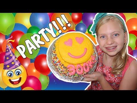 Emoji Cake, Tie Dye, Gel-a Peel - Alyssa's 300K Party Compilation