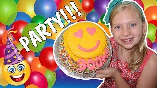 Emoji Cake, Tie Dye, Gel-a Peel - Alyssa's 300K Party Compilation