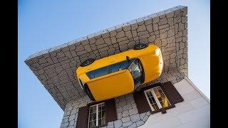 Влог: Самый большой Дом-перевертыш в мире. #ДОМВВЕРХДНОМ 🙀 Гуляем по Потолкам вверх ногами УФА