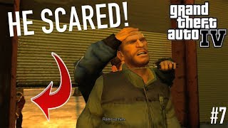 """MY PAST CAUGHT UP TO ME! ( FUNNY """"GTA 4"""" STORYMODE GAMEPLAY #7)"""
