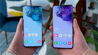 Samsung Galaxy S20 and Galaxy S20 Plus Hands On!