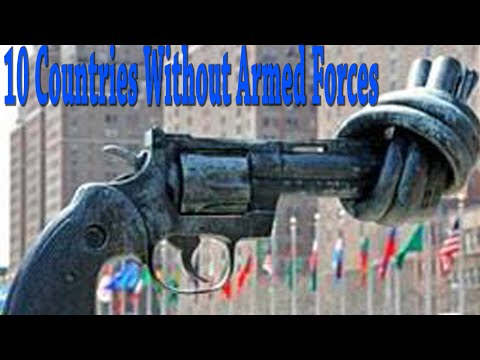10 Countries Without Armed Forces