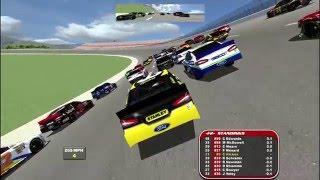 HUGE WRECK CRASHES GAME! NR2003: Piggzcreek SS 5% Full Race Gameplay. EP 02