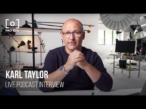 Interview With Commercial Photographer Karl Taylor | PRO EDU Live Video Podcast