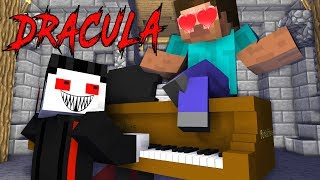 Monster School: Transylvania, Dracula challenge - Minecraft Animation