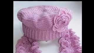 Шапки крючком Схемы вязания женских шапок(Схемы вязания крючком этих шапок для женщин и девочек есть у меня в блогах Вязаный Мир Детства и ПроШапки...., 2013-11-20T12:19:34.000Z)