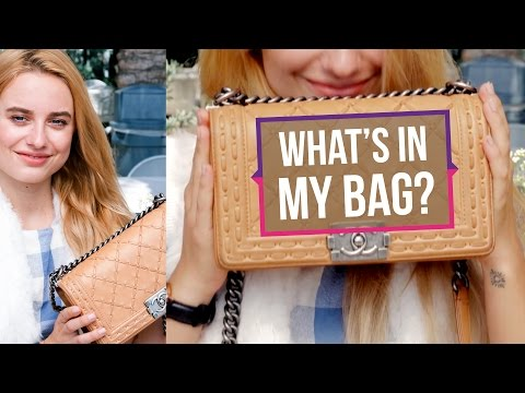 What's in My Bag w/ Sonya Esman