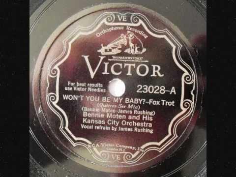 Bennie Moten & his Kansas City Orchestra - Won't You Be My Baby - 1930