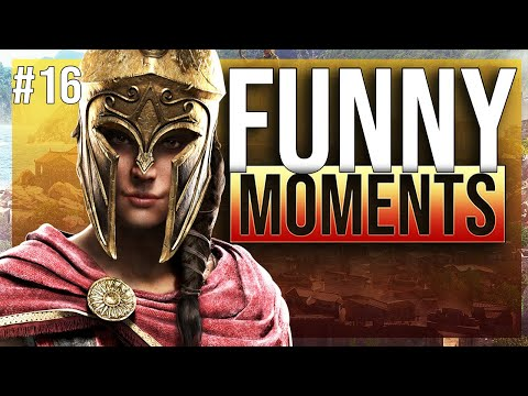 Assassins creed odyssey funny twitch moments ep  16 thumbnail