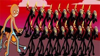 Stick War Legacy:Tournament GIANT AVATAR Griffons Invasion