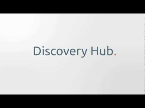 Discovery Hub - Semantic spreading activation visualization