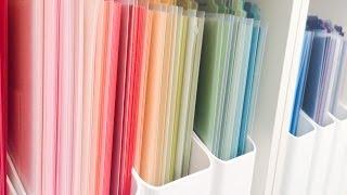 Craftroom Organization   Paper Organization