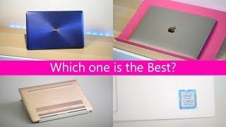 XPS 13 v MacBook Pro 13 v ZenBook 3 ShootOut - What is the Best 13 inch laptop (UltraBook)