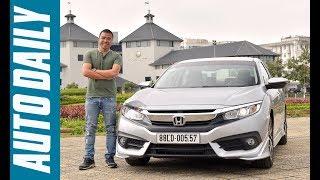 Tìm hiểu nhanh Honda Civic 1.8E CVT nhập Thái giá 758 triệu đồng |AUTODAILY.VN|