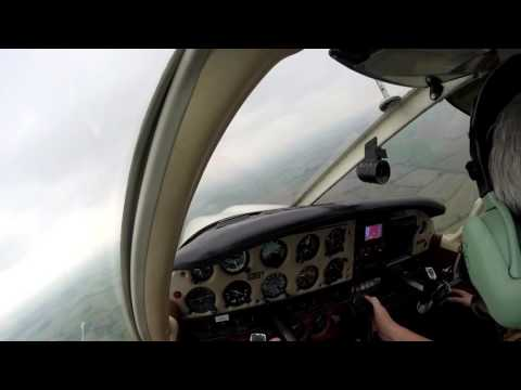 Flying lesson #9 ( circuits in a crosswind and engine failure )