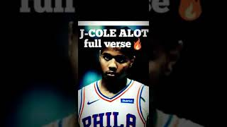 J-cole VERSE from ALOT  /21 SAVAGE