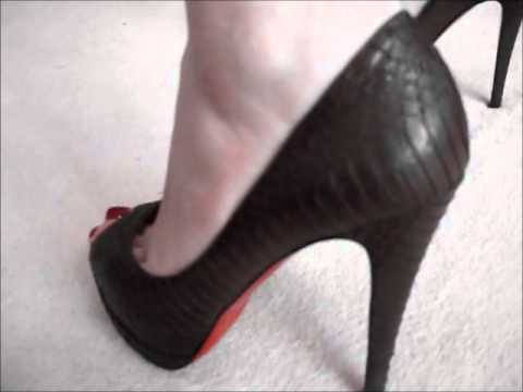 cheap knock off shoes - Christian Louboutin Rolando Pumps! :] - YouTube