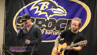 "Shinedown Performs ""Sound of Madness"" acoustic at 98 Rock Baltimore"
