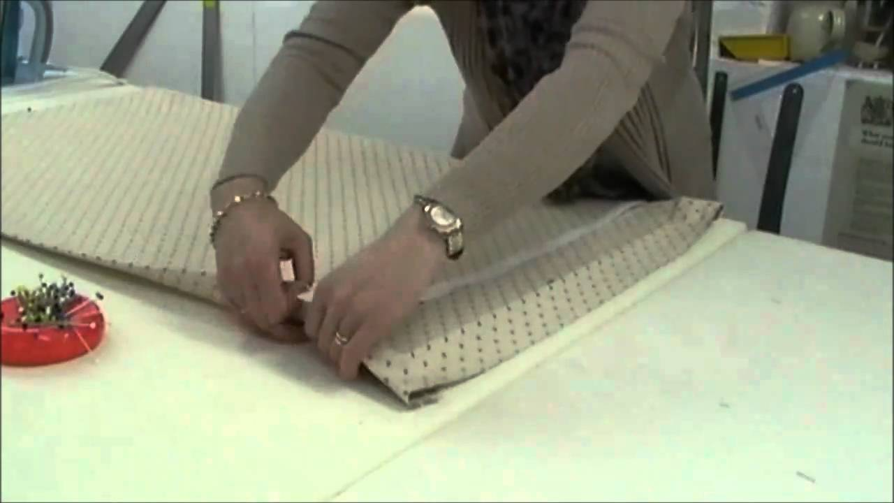 How to make Roman Blinds - Roman Shades - YouTube