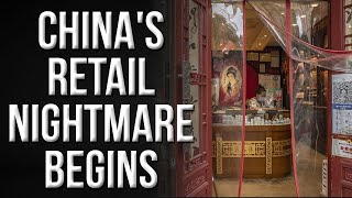 China's worst fears come true; its retail sales hit a severe low