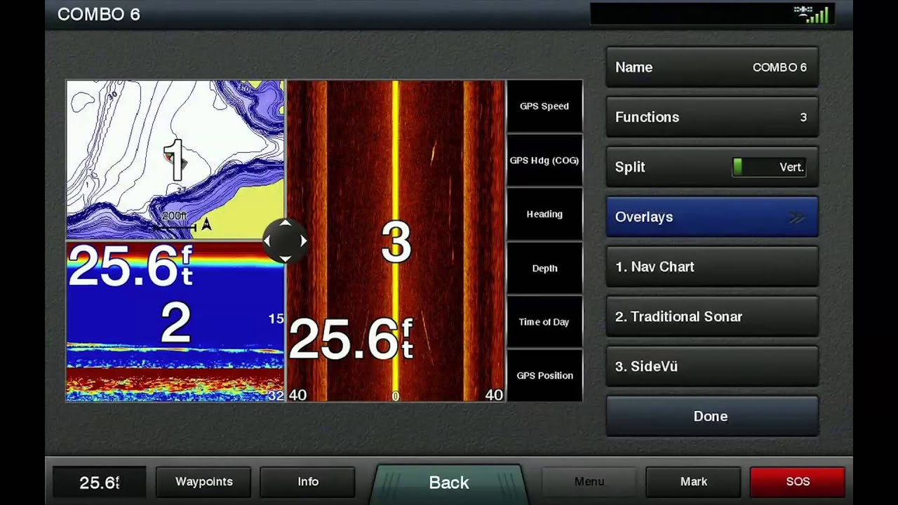 medium resolution of how to create a combo on garmin touchscreen chartplotters