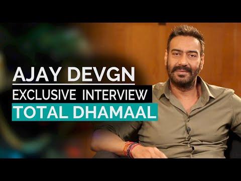 Ajay Devgan  Exclusive Interview   Total Dhamaal   Madhuri Dixit   Anil Kapoor