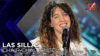 El intimismo con el que Daniela interpreta 'Moon River' le da una silla | Sillas 1 | Factor X 2018