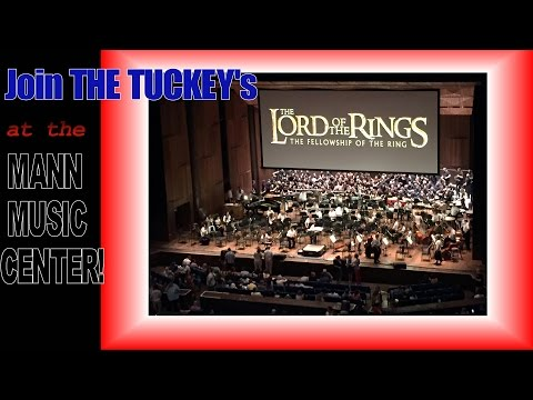 LORD OF THE RINGS Movie at MANN MUSIC CENTER with PHILADELPHIA ORCHESTRA!