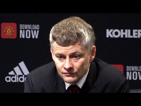 Man Utd 1-3 Man City - Ole Gunnar Solskjaer FULL Post Match Press Conference -Carabao Cup Semi-Final