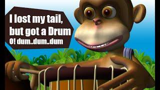 Manchadi malayalam cartoon story | der Affe, Der bekam die Trommel