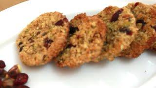 Pistachio & Cranberries Oat Cookies   Delicious Tea Time Desserts