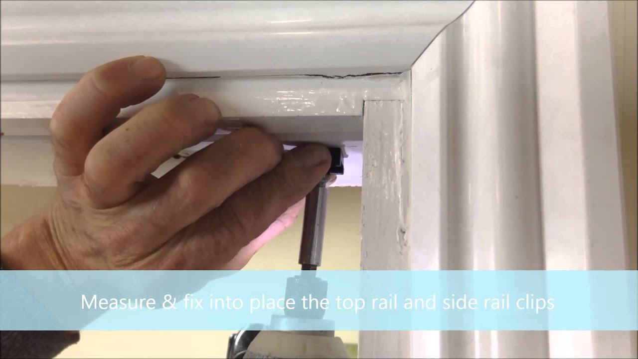 Marley Rapid Internal Folding Door Installation Guide - YouTube