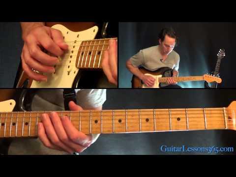Hey Joe Guitar Solo Lesson - Jimi Hendrix
