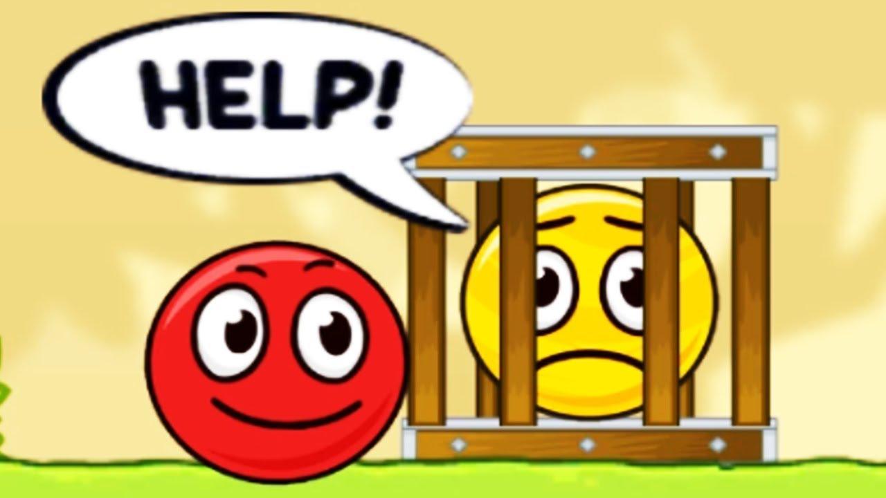Red Ball Hero Adventure - Bounce Ball 5 - Gameplay/Walkthrough