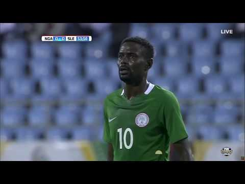 Nigeria vs. Sierra Leone (SECOND HALF)