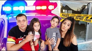 Someone BROKE Into Our HOUSE!! * COPS CALLED* | Jancy family