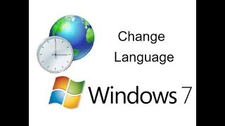How to Change Windows 7 Operating System Language
