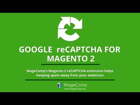 Magento 2 Google reCAPTCHA extension by MageComp