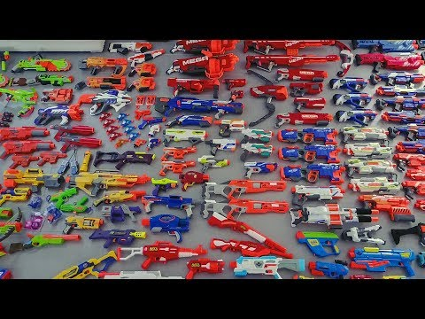 EPIC NERF GUN ARSENAL!