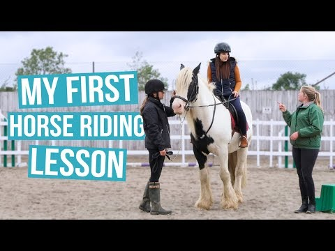 My First Horse Riding Lesson | Cherry Wallis