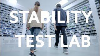 #TourPeloLaboratório - Laboratório de Teste de Estabilidade
