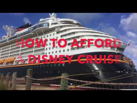How to Afford a Disney Cruise and Discounts Offered