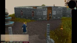 Runescape Cutscene from Love Story Wizard Tower Robbery Attempt