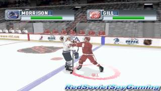 NHL 2001 (PS1) Random Gameplay - Detroit Red Wings vs. Vancouver Canucks