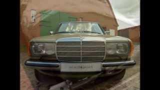 Mercedes-Benz W123 простоявший законсервированным в гараже 30 лет