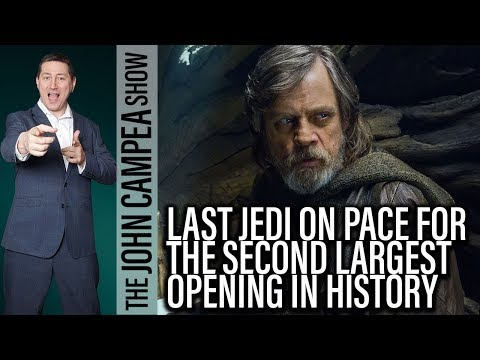 Last Jedi Box Office, Is Walking Dead Almost Finished? - The John Campea Show