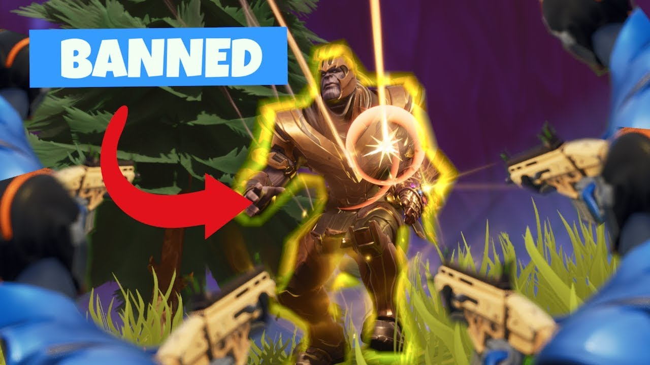 WHY I HATED USING THANOS ON FORTNITE